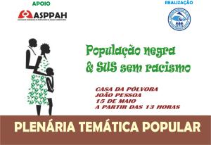 plenaria negra cartaz asppah