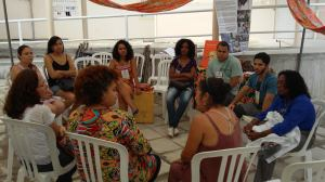 Roda de diálogos discutiu falciforme na Tenda Paulo Freire
